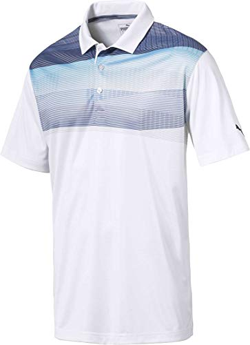 [プーマ] メンズ シャツ PUMA Men's PWRCOOL Refract Golf Polo [並行輸入品]   B07P38DBGK