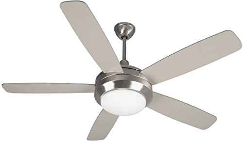 """Craftmade HE52SS5-LED Helios 52"""" Ceiling Fan with LED Light,"""