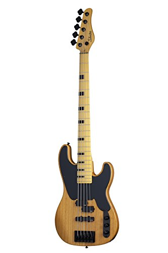 Schecter 2847 Model-T Session-5 5-String Bass Guitar, ANS