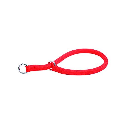 Nylon Training Collar - Coastal Red Nylon Round Choke Collar 14 Inch By Pet