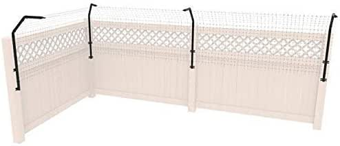 Amazon.com : Dog Proofer Curved Fence Extension System