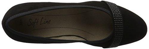 Softline 22474, Zapatos de Tacón para Mujer Negro (Black 001)