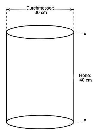 Baguettekorb rund /Ø 30cm x H 50cm braun