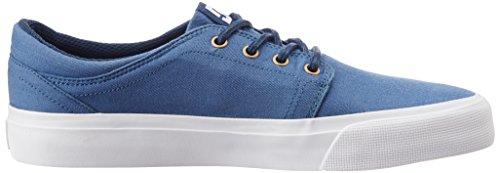 Tx Bleu Chaussures Marine De Herren Dc Sexksk Trase Blanc Sport 6gqw585