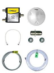Wilson Electronics 75 Ohm Add on Kit for Ag Pro 70 and Db Pro (801265/801262/462205/462105) with Dome Antenna