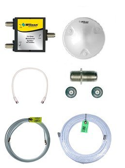 (Wilson Electronics 75 Ohm Add on Kit for Ag Pro 70 and Db Pro (801265/801262/462205/462105) with Dome Antenna)