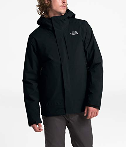 The North Face Men's Carto Triclimate Jacket, TNF Black/TNF Black, Medium