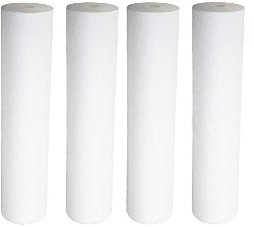 (Pentek 155358, DGD-5005-20 Dual Gradient Density Polypropylene Sediment Cartridge (Pack of 4))