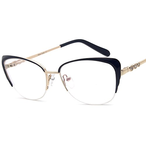 Women eyewear frames design temple Metal Half Frame RX-Able - Vogue Rx