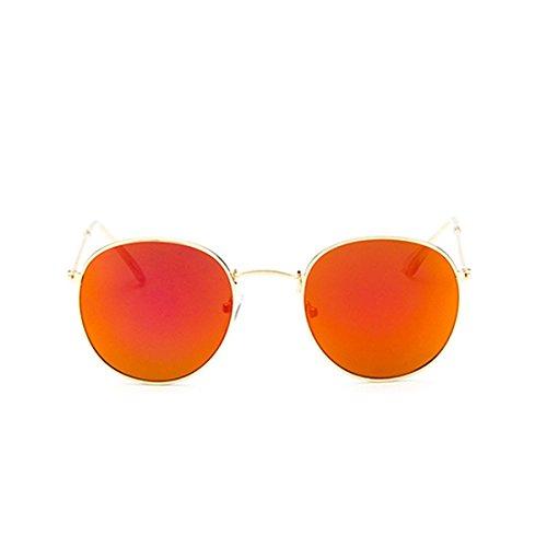 sol de gafas OurLeeme personalidad clásico Rojo wqtIwa