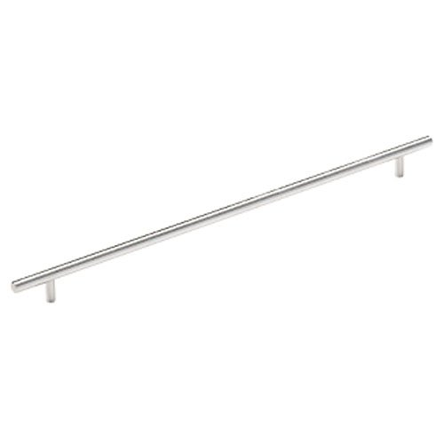 Amerock BP19015-SS Hardware Brushed Stainless Steel Bar Pull 416mm CtoC-2 Pack