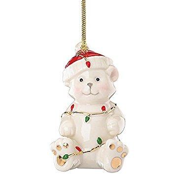 Lenox Merry Little Christmas Teddy Bear Ornament