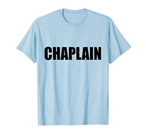 Chaplain Funny Cute Lazy Easy Simple DIY Halloween Costume -