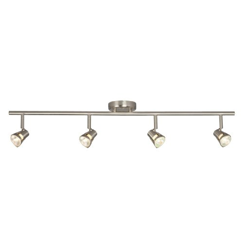 Fixed Track (Galaxy Lighting 755594BN 4 Light Halogen Fixed Track Lighting)