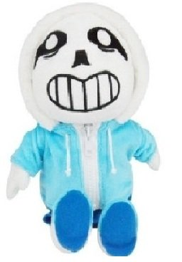 UNDERTALE Sans muñeca de peluche de juguete de felpa para niños Navidad regalos 30,48
