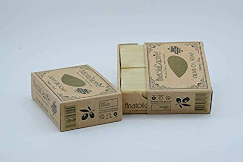 Olive Oil Soap Bar - Handmade 100% Pure Natural & Vegan (Double)