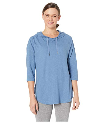 (Columbia Women's Summer Time Hoodie II, Blue Dusk, Large)
