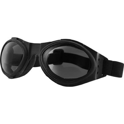 Bobster Cruiser Lens (Bobster Bugeye Motorcycle Cruiser Goggles - Black/Smoke/One Size Fits All)