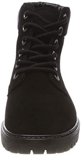 Bottines black 101 Low Laced Femme Boot Noir Up Cut Bianco XRBqaB