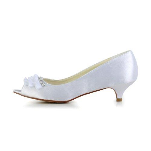 Wedding pour femme mariée 0013 Escarpins Jia mariage Blanc de chaussures Jia Bq5xgn