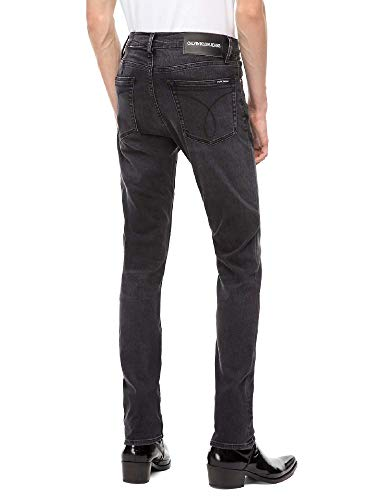 Klein 3233 Jeans J30j308317 Noir Calvin Uomo dwOdq1