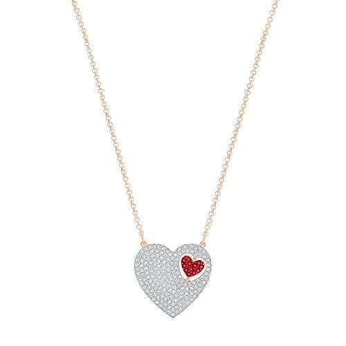 Swarovski Collier cœur Excellent, Rouge 5272346
