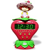 : Strawberry Shortcake AM/FM Clock Radio - SS255