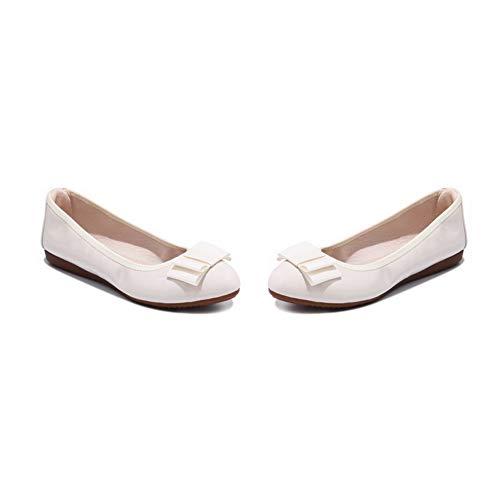 Blanc Blanc 36 BalaMasa Compensées Sandales Femme EU 5 APL10434 wqp6IXSfx1