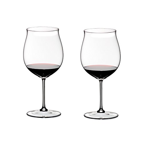 Riedel Sommeliers Leaded Crystal Burgundy Grand Cru Wine Glass, Set of 2 ()