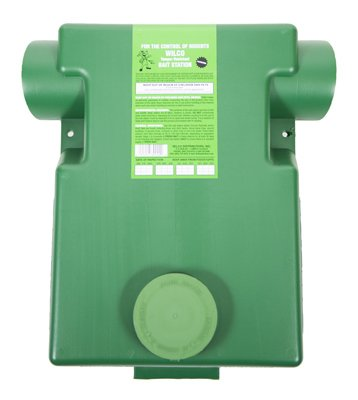 Wilco Distributors 39000 Dark Green Plastic Ground Squirrel Bait (Squirrel Bait Stations)