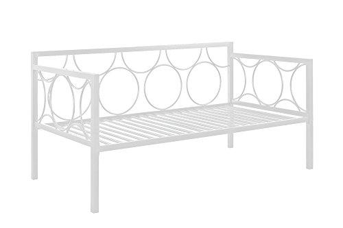 DHP 5545196 Rebecca Sofa Bed, Twin, White