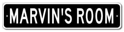 VinMea MARVIN'S Room - Kids Room Sign, Marvin Room Door Sign for Boys - 4
