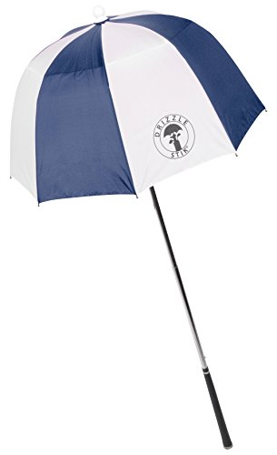 DrizzleStik Flex - Golf Club Umbrella (Navy/White)
