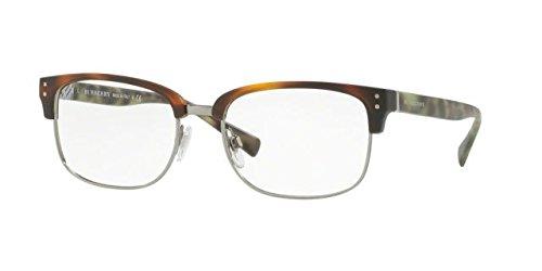 Burberry BE2253 Eyeglass Frames 3622-54 - Matte Light Havana/gunmetal BE2253-3622-54