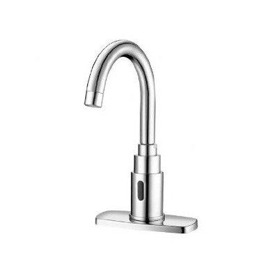 Gooseneck Faucet, 3/8 in. Compresion, Deck by Sloan