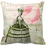 Marie Antoinette French Accent Throw Pillow Case