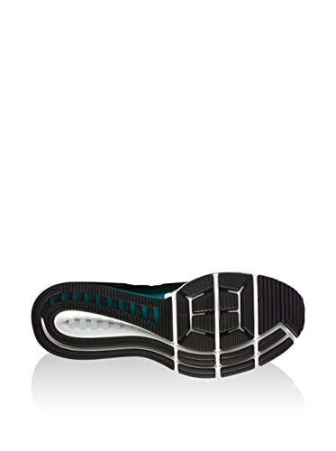 Nike Mens Air Zoom Odyssey 2 Scarpe Da Corsa Nere (top Nero E Bianco Da Rio Teal-hyper Turq)