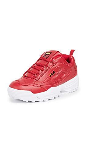 Fila Men's Disruptor III Sneakers, Red, 11 M US ()