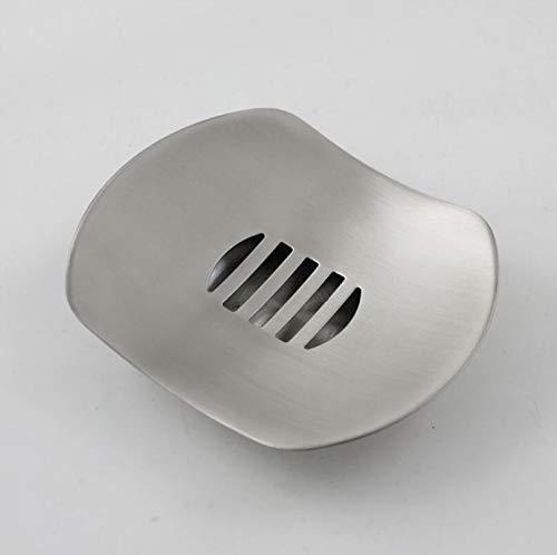 FidgetFidget ステンレススチール304ソープディッシュホルダー バスルーム つや消しニッケルフリースタンディングケース B07LBRD8PM