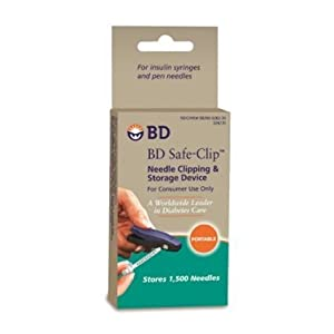 BD Safe-Clip Needle Clipping and Storage Device by BD (BECTON DICKINSON)