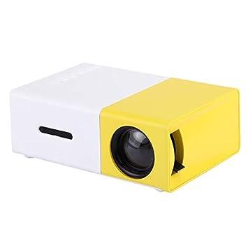 YG-300 0.8-2M 24-60 Pulgadas 400-600 lúmenes Proyector LED HD Home ...