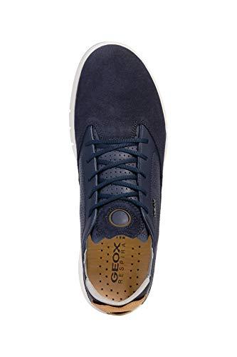 traspirante Sportive Scarpe Da scarpe sneaker Dunkelblau scarpa Sneaker Geox scarpe Stringata Ginnastika Sportivi basso Aerantis signori Cosa U927fa scarpe Uomo x4qSwPXU64