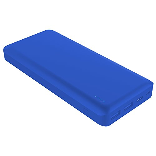 Portable Charger, Zhicity 6,000mAh Power Bank External Battery Pack Travel Battery Ultra Lightweight