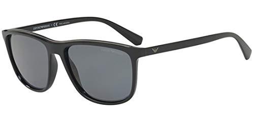 Emporio Armani sunglasses (EA-4109 501781) Shiny Black - Matt Black - Grey polarised ()