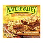 Nature Granola Bars Crunchy Roasted Almond 8.9 OZ (Pack of 24)