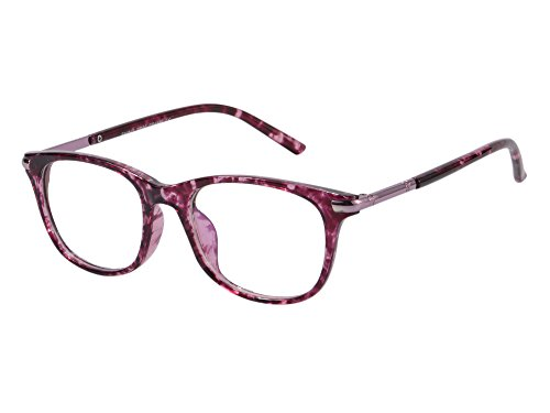 759ba4bb29 SHINU Horn Rimmed Readers Progressive Multifocus Computer Reading Glasses-SH017(pink  demi