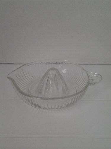 Vintage Mid Century Clear Glass Juicer ()