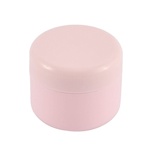 uxcell-Plastic-Cosmetic-Empty-Jar-Pot-Face-Cream-Skin-Lotion-Bottle-50g-Pink
