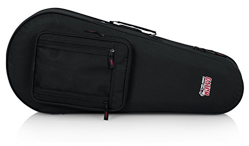 Gator Cases Lightweight Polyfoam Mandolin Case; Fit's Both 'A' and 'F' Body Styles (GL-MANDOLIN)