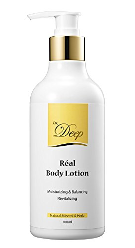 Dr.Deep Real Body Lotion for eczema Dry, Cracked, Itchy, or Irritated Skin